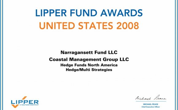 2008 Lipper Hedge Fund Award