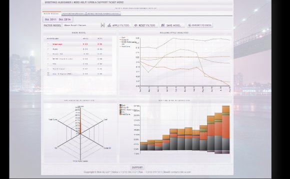 Hedge fund risk Management software