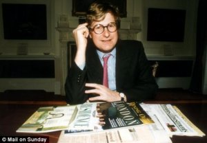 High flyer: Crispin Odey, 51, was nicknamed the David Beckham of the City