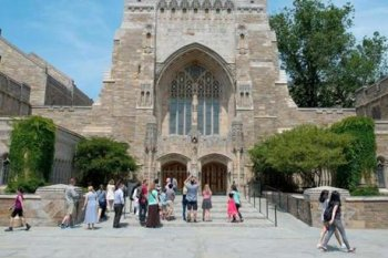 The Sterling Memorial Library regarding Yale University campus in brand new Haven, Conn., in June. Yale placed million in Nancy Zimmerman's Bracebridge Capital in 1994. The university's share has become valued at billion.