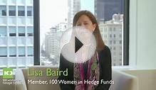 A word from Lisa Baird, Member, 100 Women in Hedge Funds