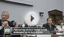 Latest Business News: Fed Survey Shows Hedge Funds